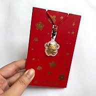 Bao Lì Xì Kết Hợp dây chuyền Hình Con Chuột Mạ Kim Loại Vàng - Là Linh Vật của năm 2020 Con Chuột Vàng mang ý nghĩa cầu chúc cho một năm mới sung túc và thật nhiều của cải - TMT Collection thumbnail