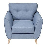 Sofa Nỉ Đơn Juno V9.SF02 V1 90 x 80 x 90 cm (Xanh ghi) thumbnail