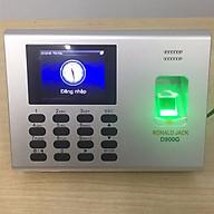 Máy chấm công vân tay + vân tay + pin lưu điện Ronal Jack D900G - hàng nhập khẩu thumbnail