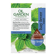 Oil Garden Hayfever Blend 25ml thumbnail