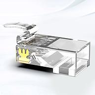 Đầu bấm mạng AMPCOM CAT5E UTP (15U 30U 50U) 100pcs hộp AMCAT5E - Hàng chính hãng thumbnail