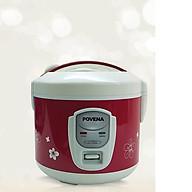 Nô i cơm điê n nă p rơ i Povena 1,5L (đỏ) PVN - 1511- Hàng chính hãng thumbnail