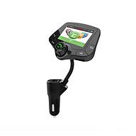 Chuyển đổi nhạc MP3 FM trên ô tô có blutooth T10 (Tặng kèm miếng thép đa năng 11in1) thumbnail