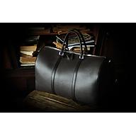MISSION BAG - Túi trống du lịch - Travel Bag da thật - LEMOS VN.02 thumbnail