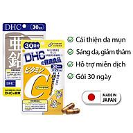 Combo NGỪA MỤN - GIẢM THÂM DHC Nhật Bản gồm viên uống vitamin C và viên uống kẽm 30 ngày JN-DHC-CB2 thumbnail
