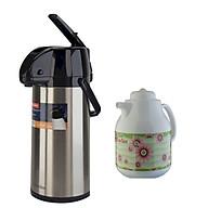 Phích đựng nước nóng Rạng Đông RD2545 ST1.E + Tặng kèm bình trà giữ nhiệt RD1055 TS thumbnail