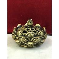 Xông trầm sen thấp - Đồ phong thủy (kt 8,5x12cm) thumbnail