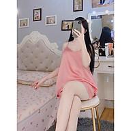 Bộ Hai Dây Lụa Tằm Thái - Babi mama - Đồ Ngủ Cao Cấp Đồ Bộ Pijama BP01 thumbnail