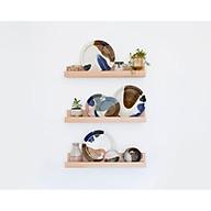 Kệ gỗ treo tường trang trí Kệ mỹ phẩm Kệ sách GU DECOR WOODEN kệ gỗ trang trí phòng ngủ thumbnail