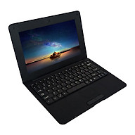 10.1inch Netbook Lightweight Portable Laptop ACTIONS S500 1.5GHz ARM Cortex-A9 Android 5.1 1G+8G 1024 600 Silver US Plug thumbnail