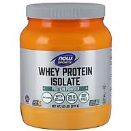 Whey Protein Isolate, Unflavored Powder Bổ sung 25g Đạm chất lượng cao có các axit amin chuỗi nhánh (BCAAs) có khả năng hấp thụ nhanh và dễ tiêu hóa dành cho người luyện tập thể thao (544gram) thumbnail