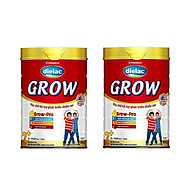 BỘ 2 LON SỮA BỘT VINAMILK DIELAC GROW 2+ 900G (CHO TRẺ TỪ 2 - 10 TUỔI) thumbnail