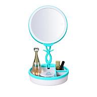 Gương trang điểm có đèn led dimmer, đèn ngủ, hộp makeup JN-008 thumbnail