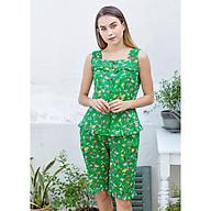 Đồ mặc nhà Bộ lửng nữ sát nách Tvm Luxury Homewear B499 thumbnail