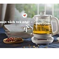 Ấm đun nước pha trà Bear 800ml bằng thủy tinh chịu nhiệt cao cấp thumbnail