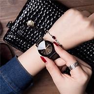 Đồng hồ thời trang nam nữ đeo tay với thiết kế đa giác độc đáo mới lạ cực đẹp ZO95 thumbnail