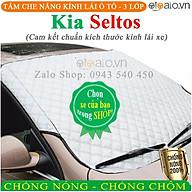Tấm che chắn nắng kính lái ô tô Kia Seltos 3 Lớp Cao Cấp Chắn Nắng Cản Nhiệt - OTOALO thumbnail