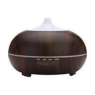 Máy xông siêu âm khuếch tán tinh dầu bí ngô lớn vân gỗ tối Cetronic thumbnail