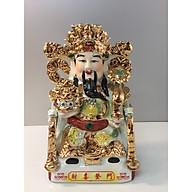 Thần Tài Phát lộc ( dành cho Ban thần Tài, khám thần tai) sứ bát tràng thumbnail