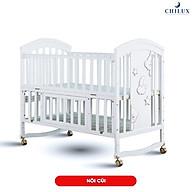 Nôi em bé đa năng sơn trắng CHILUX - 6 chế độ đa năng thumbnail