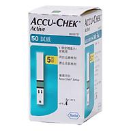 Que thử đường huyết Accuchek Active 50 (lọ 50 que) thumbnail