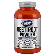 Beet Root Powder BÙ KHOÁNG, THANH LỌC PHỔI TĂNG ĐỘ BỀN VÀ HIỆU SUẤT THỂ THAO - Bột Củ Dền nguyên chất giàu nitrat, magiê, kali, vitamin C tự nhiên giúp bù khoáng chất khi tập luyện, hỗ trợ chức năng phổi tinh khiết (340gram) thumbnail