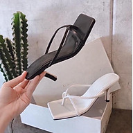 Sandal cao gót quai mảnh thời trang thumbnail
