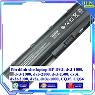 Pin dành cho laptop HP DV3 dv3-1000 dv3-2000 dv3-2100 dv3-2300 dv3t dv3t-2000 dv3z dv3z-1000 CQ35 CQ36 - Hàng Nhập Khẩu thumbnail