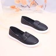 Giày Búp Bê Đế Slipon Siêu Nhẹ Nơ Thắt Pixie X638 thumbnail