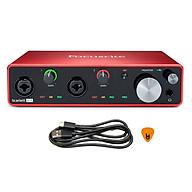 Focusrite Scarlett 4i4 Gen 3 Sound Card Âm Thanh Hàng Chính Hãng - Focus USB Audio Interface SoundCard (3rd - Gen3) - Kèm Móng Gẩy DreamMaker thumbnail
