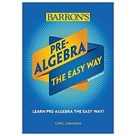 Pre-Algebra The Easy Way (Barron s Easy Way) thumbnail
