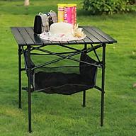 Bàn nhôm đa năng dùng cho đi dã ngoại di động Bàn xếp gấp gọn du lịch size lớn, bàn phòng ăn bàn để đồ nhà bếp - Hàng chính hãng thumbnail