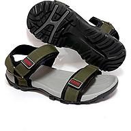 Giày Sandal Nữ Quai Ngang Teramo TRM06 Xanh Rêu thumbnail