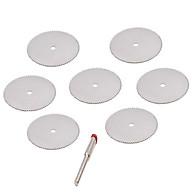 Bộ 7 đĩa cắt mini chân cán 3ly dùng cho máy khoan mài khắc và máy mài khuôn - lưỡi cưa mini đa năng thumbnail