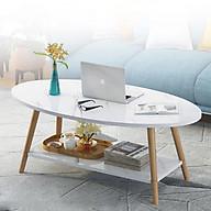 Bàn Cafe, bàn sofa 2 tầng ASBK2008 ( Mầu ngẫu nhiên ) thumbnail