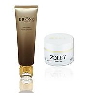 Combo Kem Trắng da se khít lỗ chân lông Zoley (10g) & Sữa rửa mặt sáng da Kbone (50ml) thumbnail