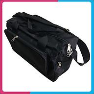 Túi đồ nghề cho thợ điện, điện lạnh 42x26x20 cm màu đen thumbnail