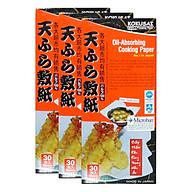 Hộp Giấy Thấm Dầu Kokusai GTDD09000338 (30 Tờ Hộp) thumbnail