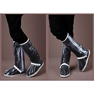 Bọc Giày Đi Mưa PVC Dẻo Kích Thước 33 x 14cm thumbnail