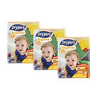 [combo 3 gói] Tã quần Drypers Drypantz L 48 miếng (9 - 14kg) thumbnail