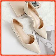 Giày bệt mũi nhọn cực tôn dáng Mã B8 thumbnail