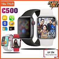 Đồng hồ thông minh C500 , Lắp Sim Nghe Gọi Nhắn Tin Độc Lập,Thay Được Hình Nền ,Tiếng Việt 100%, Thay Được Dây Đeo thumbnail