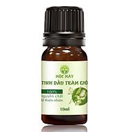 Tinh dầu Tràm Organic hữu cơ 10ml Mộc Mây - tinh dầu thiên nhiên nguyên chất 100% - dùng xông tắm ngừa cảm lạnh, trị côn trùng cắn đốt cho Bé, Trẻ sơ sinh và Trẻ nhỏ An toàn cho làn da nhạy cảm của Bé thumbnail