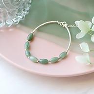 Vòng Tay Nữ Ngọc Jade Miến Diện LTT08 Bảo Ngọc Jewelry thumbnail