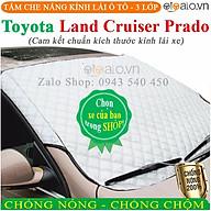 Tấm che chắn nắng kính lái ô tô Toyota Land Cruiser Prado CAO CẤP 3 Lớp Chắn Nắng Cản Nhiệt OTOALO thumbnail