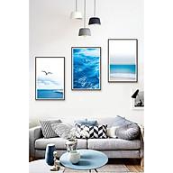 Decal dán tường bộ 3 cảnh biển xanh tươi đẹp Tipo_0326 thumbnail