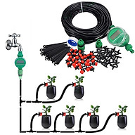 Bộ KIT tưới cây tự động 20 béc nhỏ giọt kèm van nước hẹn giờ tự động, 20m dây và đầy đủ phụ kiện thumbnail