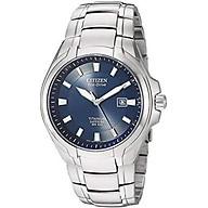 Citizen Men s Eco-Drive Titanium Watch with Date, BM7170-53L thumbnail