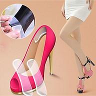 Combo 4 Miếng Lót Gót Giày Silicon Bảo Vệ Giảm Đau Chống Trầy Xước Chân thumbnail