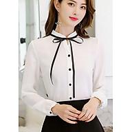 Áo Sơ Mi Nữ Dài Tay Công Sở Style Hàn Quốc Mới Ohazo - AG20 thumbnail